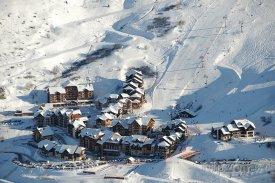 Lyžařská vesnička Valmeinier