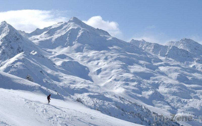 Fotka, Foto Lyžařské středisko Brides-les-Bains