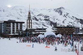 Lyžařské středisko Saint Martin de Belleville