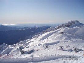 Lyžařské středisko Sella Nevea-Bovec