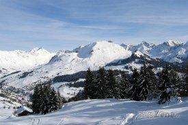 Lyžařský rezort Le Grand-Bornand