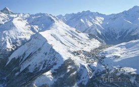 Lyžařský rezort Les 2 Alpes