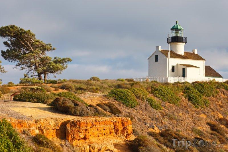 Fotka, Foto Maják na Point Loma (San Diego, USA)