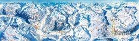 Mapa lyžařského střediska Bormio
