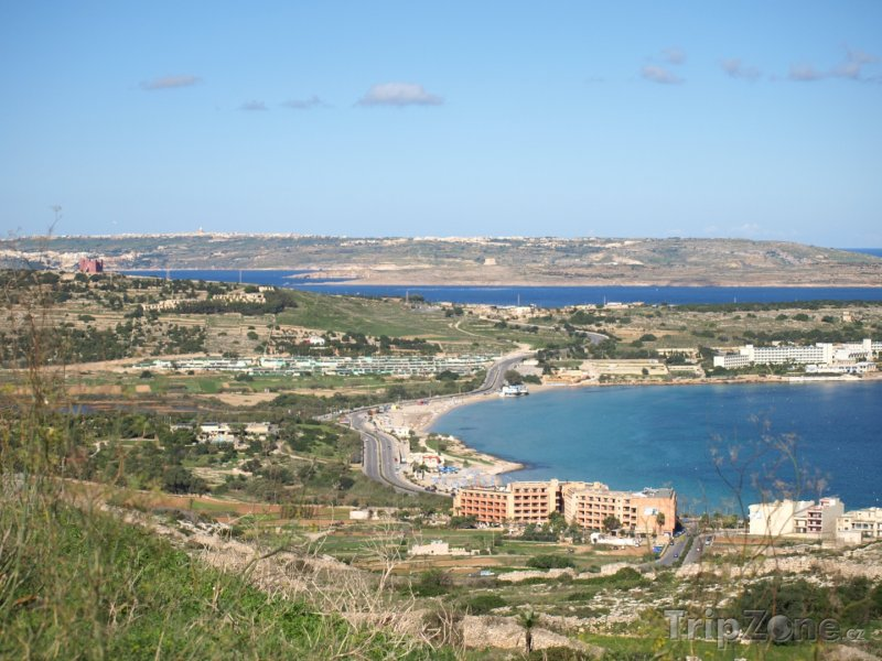 Fotka, Foto Mellieha, Mellieha Bay (Malta)