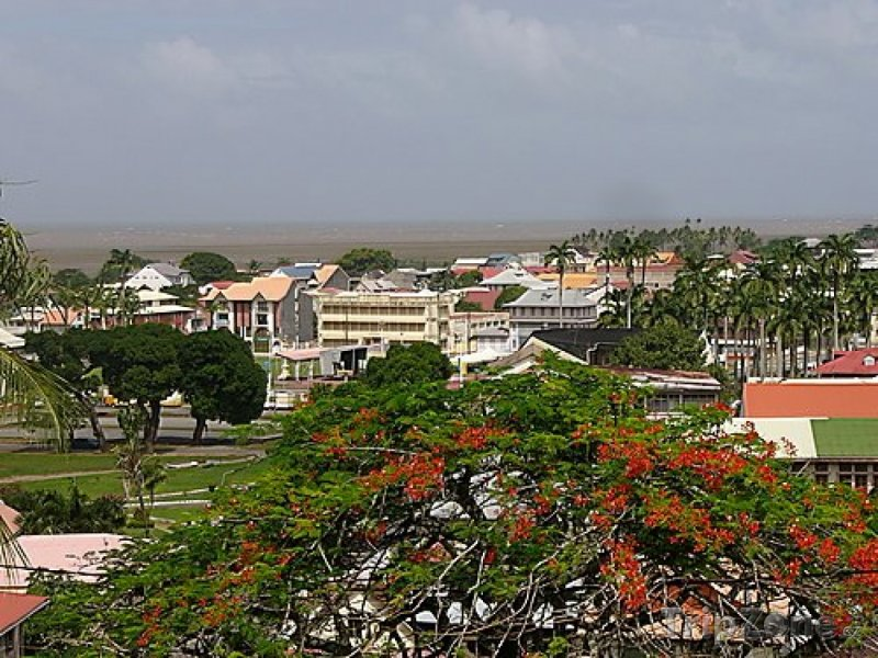Fotka, Foto Město Cayenne