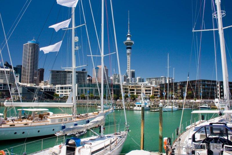 Fotka, Foto Nábřeží v Aucklandu (Auckland, Nový Zéland)