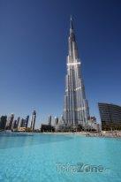Nejvyšší stavba světa Burdž Chalífa