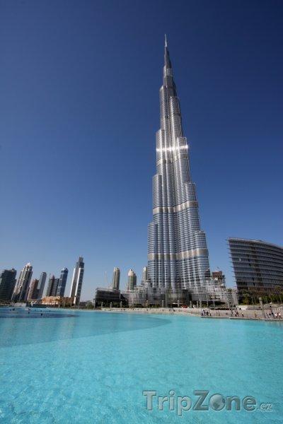 Fotka, Foto Nejvyšší stavba světa Burdž Chalífa (Dubaj, Spojené arabské emiráty)