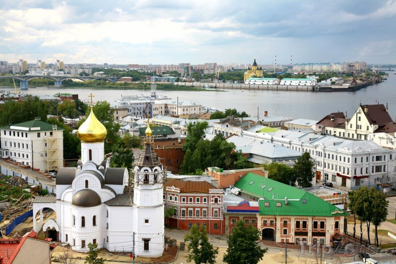 Fotka, Foto Nižnij Novgorod panorama (Rusko)
