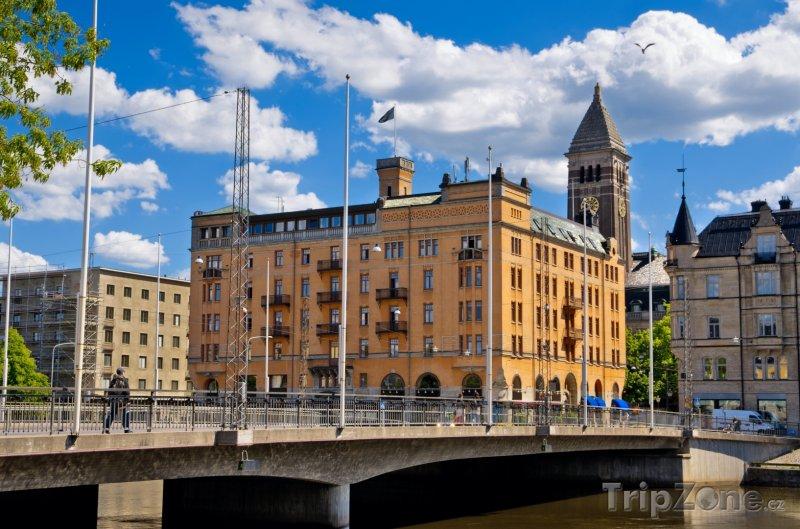 Fotka, Foto Norrköping, radnice (Švédsko)