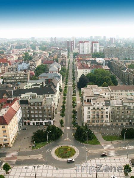 Fotka, Foto Ostrava, pohled na město z Nové radnice (Česká republika)