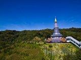 Pagoda na hoře Doi Inthanon