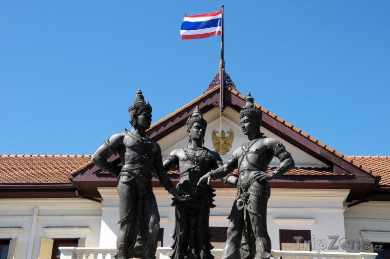 Fotka, Foto Památník Tří králů (Chiang Mai, Thajsko)