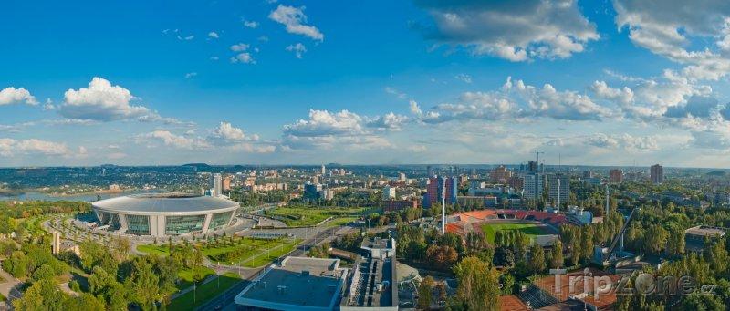 Fotka, Foto Panorama Doněcku (Ukrajina)