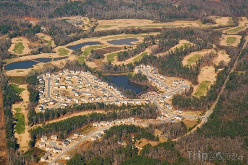 Fotka, Foto Panorama golfového hřiště (Atlanta, USA)