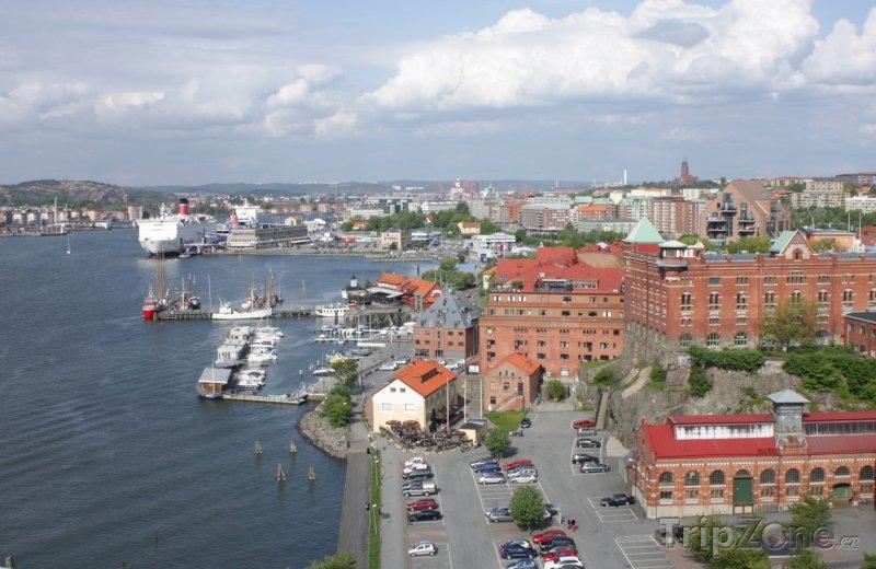 Fotka, Foto Panorama Göteborgu (Švédsko)