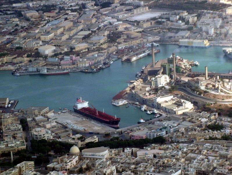 Fotka, Foto Panorama města Marsa (Malta)