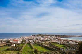 Panorama města Paleochora