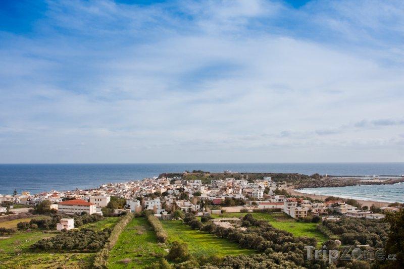 Fotka, Foto Panorama města Paleochora (Řecko)