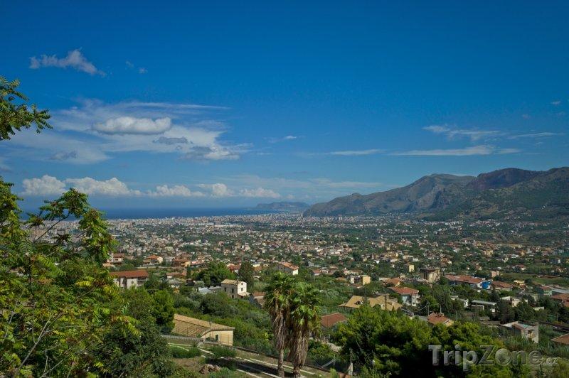 Fotka, Foto Panorama města (Palermo, Itálie)