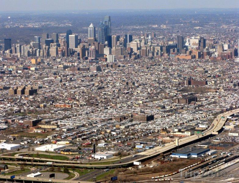 Fotka, Foto Panorama města (Filadelfie, USA)