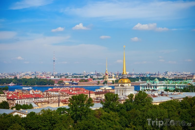 Fotka, Foto Panorama města (Petrohrad, Rusko)