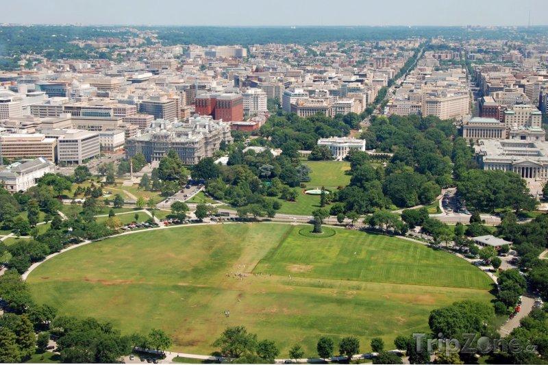 Fotka, Foto Panorama města z Washingtonova monumentu (Washington D.C., USA)