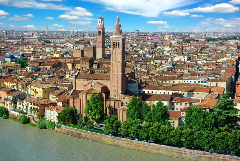 Fotka, Foto Panorama Verony (Itálie)