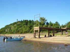 Paysandú, molo na pláži