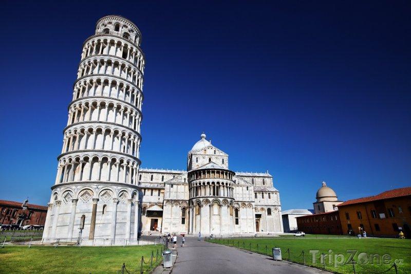 Fotka, Foto Pisa, Šikmá věž na Náměstí zázraků (Itálie)