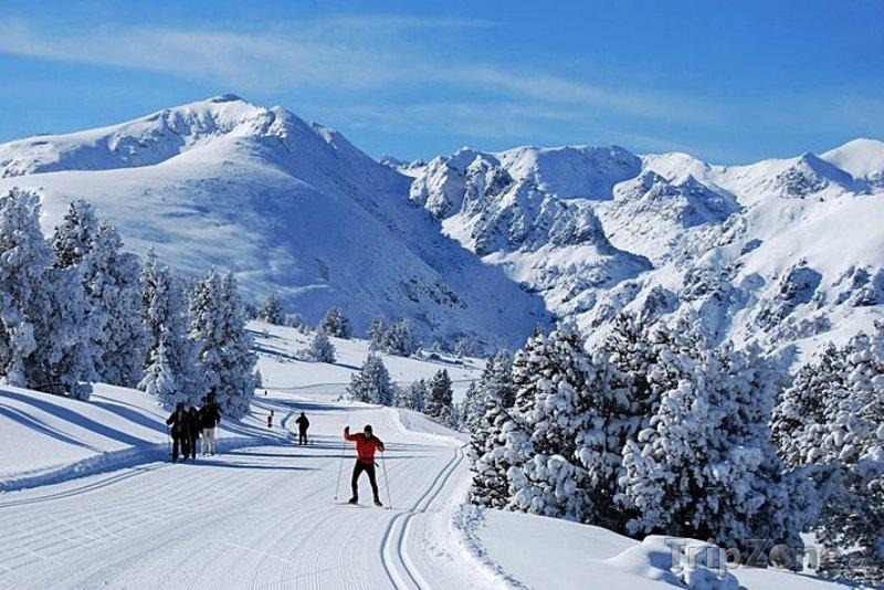 Fotka, Foto Plateau de Beille, běžkařská trať