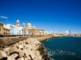 Pobřeží města Cádiz
