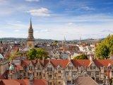 Pohled na město Oxford