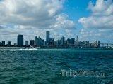 Pohled na město z Atlantiku