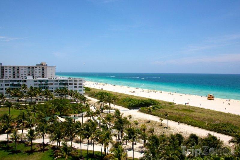 Fotka, Foto Pohled na South Beach v Miami na Floridě (Miami, USA)
