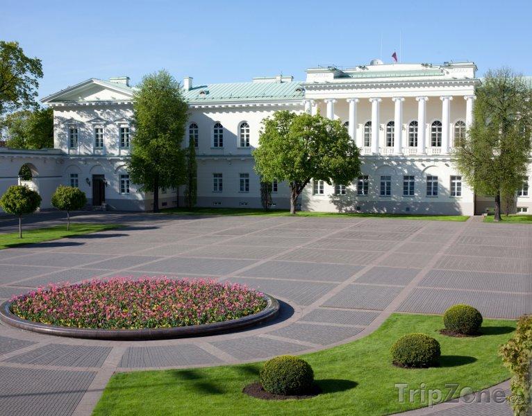 Fotka, Foto Presidentský palác (Vilnius, Litva)