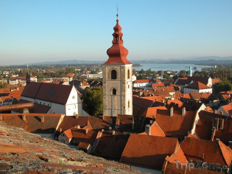 Fotka, Foto Ptuj, panorama (Slovinsko)