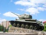 Sovětský tank v Tiraspolu