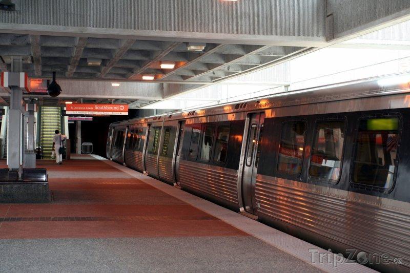 Fotka, Foto Stanice metra v Atlantě (Atlanta, USA)