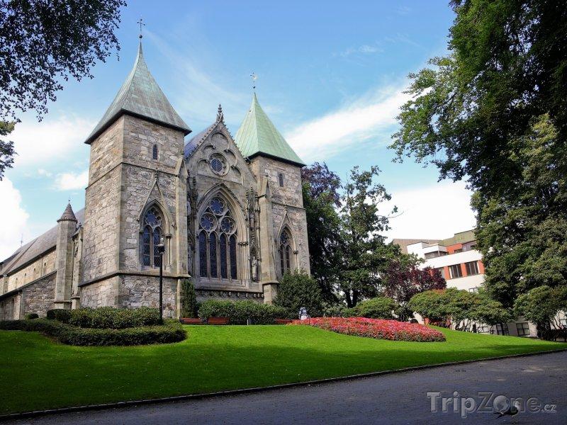 Fotka, Foto Stavanger, katedrála Stavanger Domkirke (Norsko)