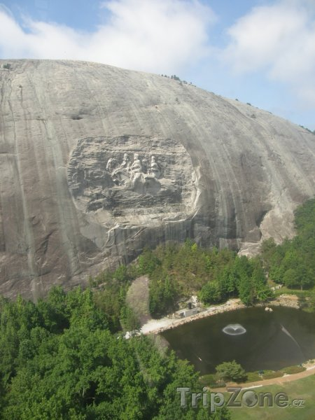 Fotka, Foto Stone Mountain (Atlanta, USA)