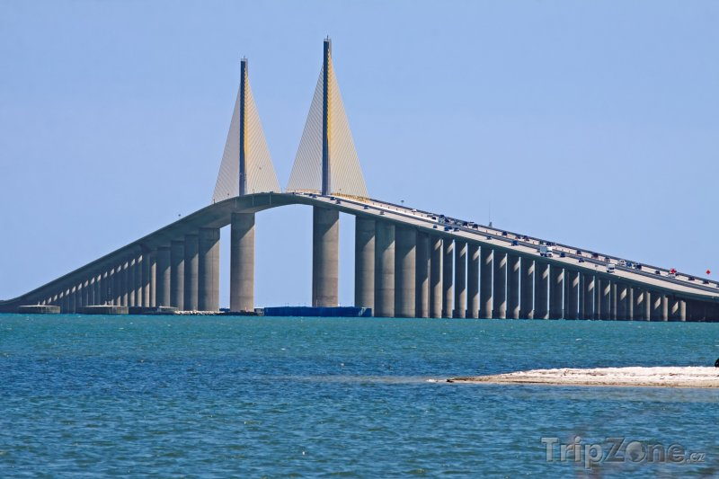 Fotka, Foto Sunshine Skyway Bridge (Tampa, USA)
