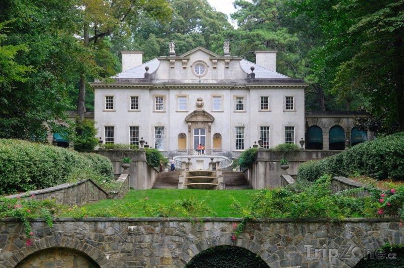 Fotka, Foto Swan House (Atlanta, USA)