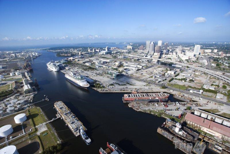 Fotka, Foto Tampa Bay panorama (Tampa, USA)