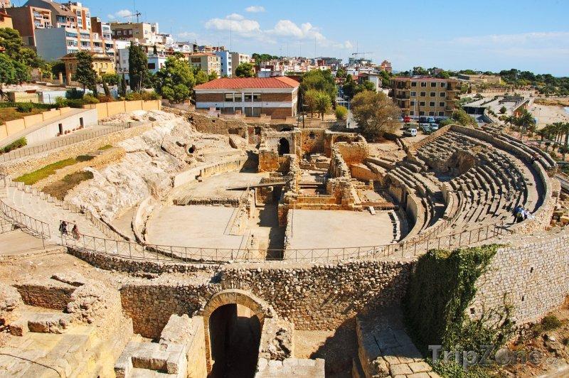 Fotka, Foto Tarragona, římský amfiteátr (Španělsko)