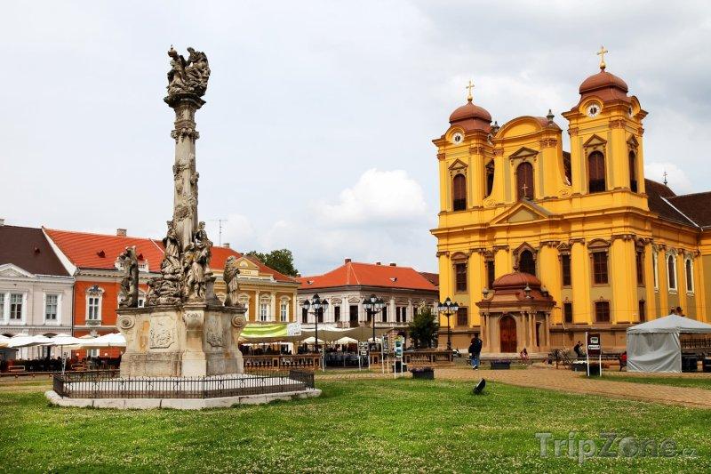 Fotka, Foto Temešvár, náměstí Piaţa Unirii (Rumunsko)