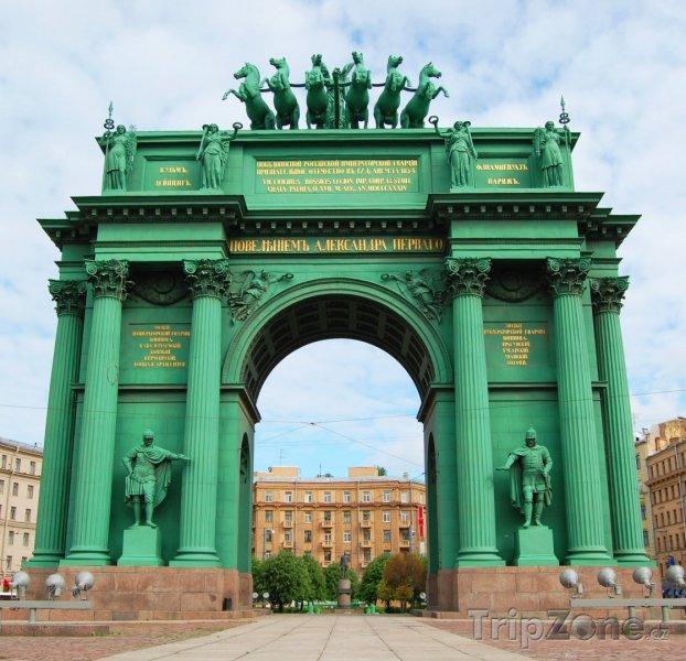 Fotka, Foto Triumfální oblouk Narva (Petrohrad, Rusko)