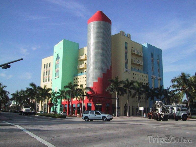 Fotka, Foto Tropické Art Deco (Miami, USA)