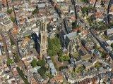 Utrecht, pohled na věž Domtoren